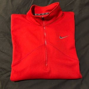 Men's Dri Fit Zip Up Pullover